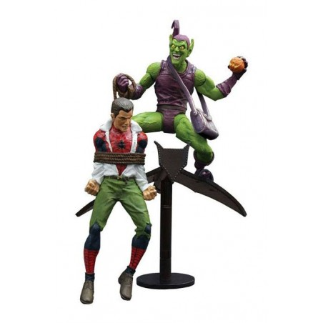 MARVEL SELECT - GREEN GOBLIN AND SPIDER-MAN ACTION FIGURE