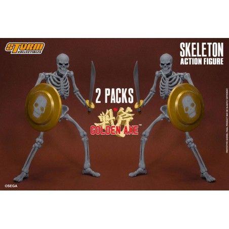 GOLDEN AXE - SKELETON 2-PACK 1/12 18CM ACTION FIGURE