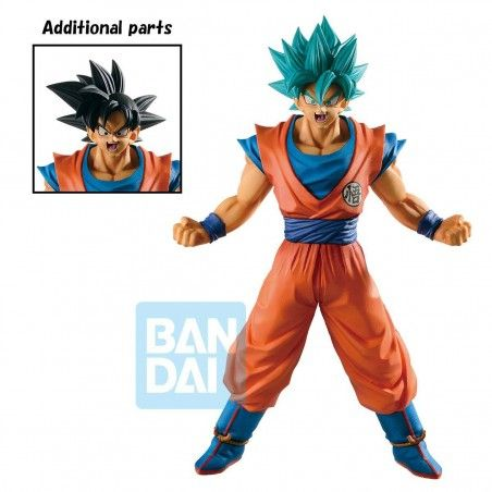 DRAGON BALL SUPER ICHIBANSHO GOKU SUPER SAIYAN GOD PVC STATUE 25CM FIGURE