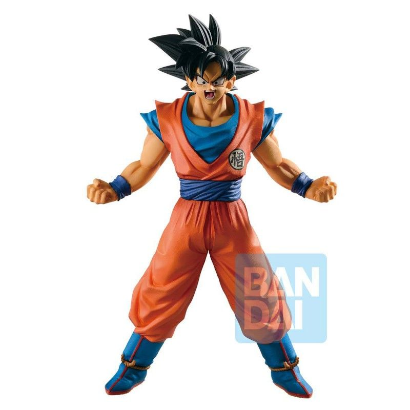 DRAGON BALL SUPER ICHIBANSHO GOKU SUPER SAIYAN GOD PVC STATUE 25CM FIGURE BANDAI