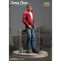 INFINITE STATUE JAMES DEAN STATUE 30 CM 1/6 OLD AND RARE RESIN FIGURE
