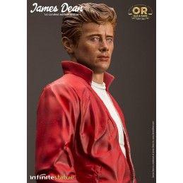 JAMES DEAN STATUE 30 CM 1/6 OLD AND RARE RESIN FIGURE INFINITE STATUE