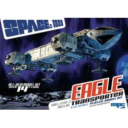 SPAZIO 1999 EAGLE TRANSPORTER 1/72 MODEL KIT MPC