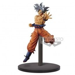 BANPRESTO DRAGON BALL SUPER CHOSENSHIRETSUDEN - SON GOKU ULTRA INSTINCT 16CM STATUE FIGURE
