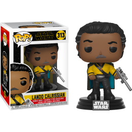 FUNKO FUNKO POP STAR WARS EPISODE IX - LANDO CALRISSIAN BOBBLE HEAD KNOCKER FIGURE