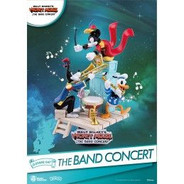 MICKEY MOUSE THE BAND CONCERT D-STAGE 047 STATUE FIGURE DIORAMA BEAST KINGDOM