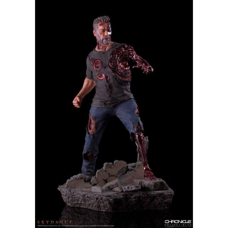 TERMINATOR: DARK FATE - T-800 1/4 46CM STATUE FIGURE CHRONICLE COLLECTIBLES