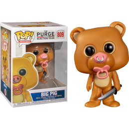 FUNKO POP! THE PURGE ELECTION YEAR - BIG PIG BOBBLE HEAD KNOCKER FIGURE FUNKO