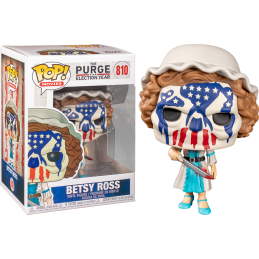 FUNKO POP! THE PURGE ELECTION YEAR - BETSY ROSS BOBBLE HEAD KNOCKER FIGURE FUNKO