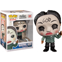 FUNKO POP! THE PURGE ANARCHY - WAVING GOD BOBBLE HEAD KNOCKER FIGURE FUNKO