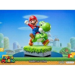 FIRST4FIGURES SUPER MARIO - MARIO AND YOSHI STATUE 48 CM RESIN FIGURE DIORAMA