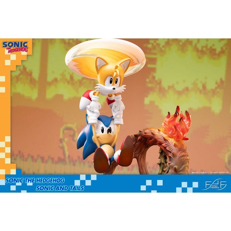 Buy Sonic The Hedgehog Sonic And Tails Statue 50 Cm Resin Figure