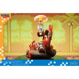 FIRST4FIGURES SONIC THE HEDGEHOG - SONIC AND TAILS STATUE 50 CM RESIN FIGURE DIORAMA