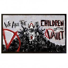 BORDERLANDS 3 CHILDREN OF THE VAULT DOORMAT ZERBINO 80X50CM TAPPETINO GAYA ENTERTAINMENT