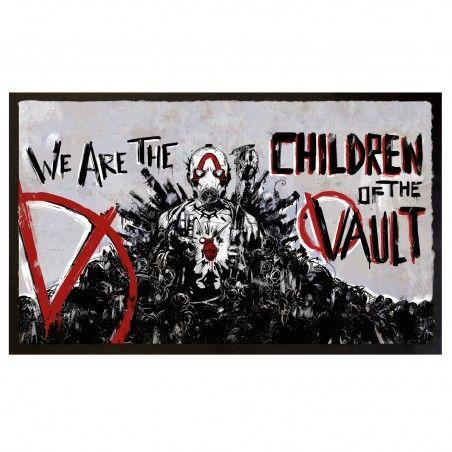 BORDERLANDS 3 CHILDREN OF THE VAULT DOORMAT ZERBINO 80X50CM TAPPETINO