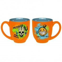GAYA ENTERTAINMENT BORDERLANDS 3 STICKER PUNK ORANGE MUG TAZZA IN CERAMICA