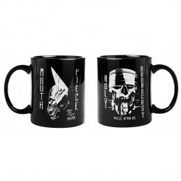 GAYA ENTERTAINMENT BORDERLANDS 3 MOUTHPIECE BLACK MUG TAZZA IN CERAMICA