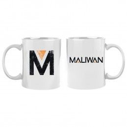 GAYA ENTERTAINMENT BORDERLANDS 3 MALIWAN WHITE MUG TAZZA IN CERAMICA
