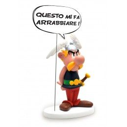 PLASTOY ASTERIX - ASTERIX COMICS SPEECH ITALIANO 20CM RESIN FIGURE STATUE