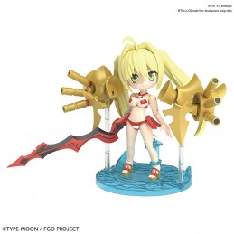 BANDAI FATE GRAND ORDER - PETITRITS CASTER NERO CLAUDIUS MODEL KIT ACTION FIGURE