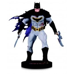 DC DESIGNER SERIES METAL BATMAN BY CAPULLO 16CM RESIN STATUE FIGURE DC COLLECTIBLES