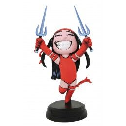 MARVEL ANIMATED ELEKTRA 25CM STATUE FIGURE DIAMOND SELECT