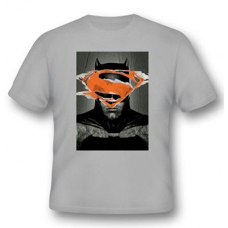 MAGLIA T SHIRT BATMAN V SUPERMAN BATMAN POSTER