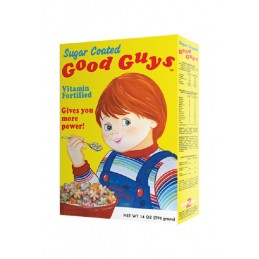 CHUCKY CHILD'S PLAY 2 - GOOD GUYS CEREAL BOX REPLICA FIGURE TRICK OR TREAT STUDIOS