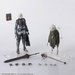 NIER REPLICANT BRING ARTS NIER AND EMIL SET ACTION FIGURE SQUARE ENIX