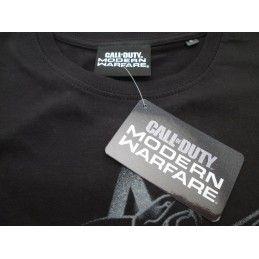 MAGLIA T SHIRT CALL OF DUTY MODERN WARFARE NERA