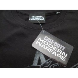 MAGLIA T SHIRT CALL OF DUTY MODERN WARFARE SOLDIER NERA
