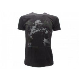 MAGLIA T SHIRT CALL OF DUTY MODERN WARFARE SOLDIER NERA