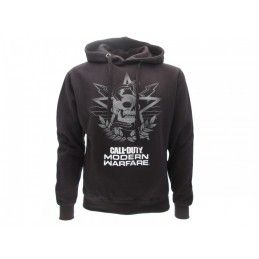 FELPA HOODIE CALL OF DUTY MODERN WARFARE NERA
