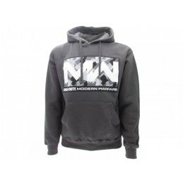 FELPA HOODIE CALL OF DUTY MODERN WARFARE LOGO GRIGIA