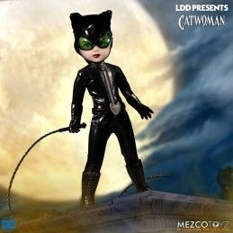 MEZCO TOYS LIVING DEAD DOLLS LDD - CATWOMAN ACTION FIGURE