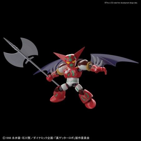 SD CROSS SILHOUETTE SHIN GETTER ROBOT MODEL KIT ACTION FIGURE