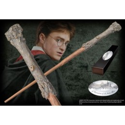 NOBLE COLLECTIONS HARRY POTTER WAND - HARRY REPLICA BACCHETTA