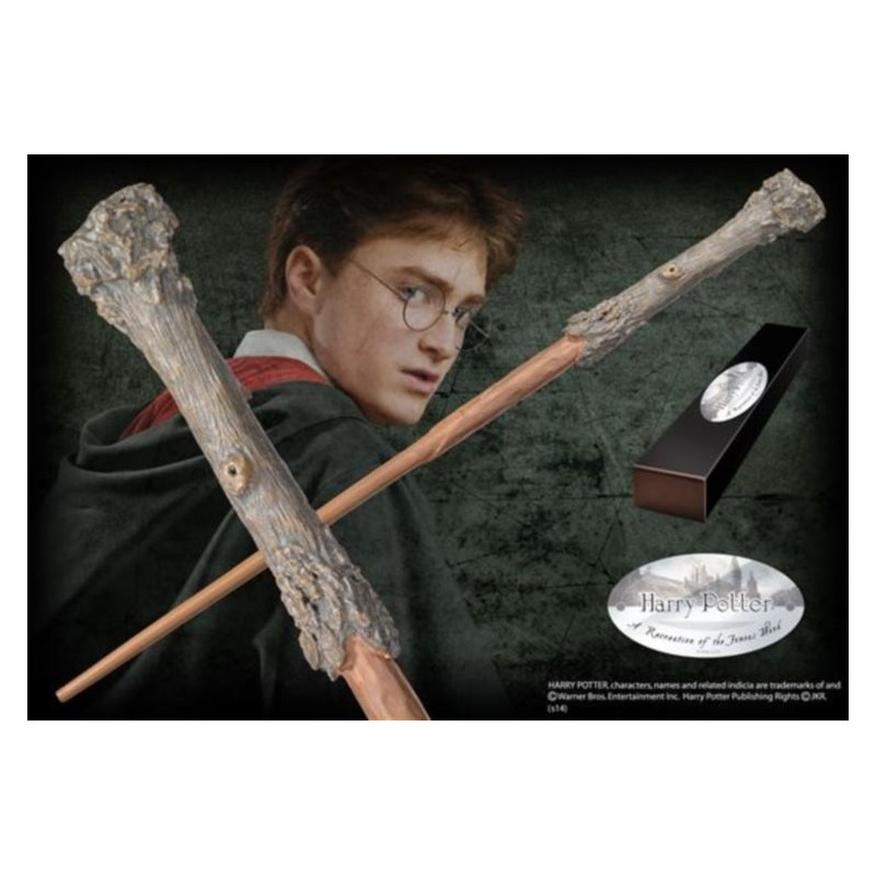 HARRY POTTER WAND - HARRY REPLICA BACCHETTA NOBLE COLLECTIONS