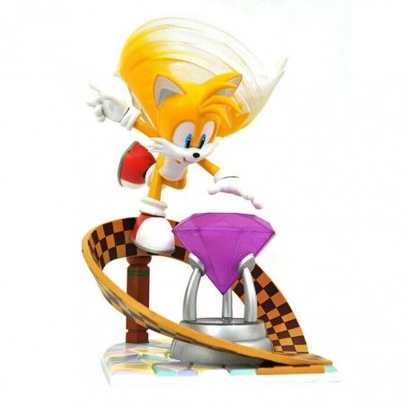 SONIC THE HEDGEHOG GALLERY - TAILS STATUE 23CM FIGURE