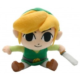 PUPAZZO PELUCHE NINTENDO THE LEGEND OF ZELDA LINK 22CM