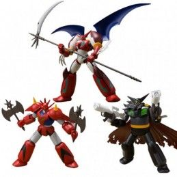 GETTER ROBOT SERIES 2 SUPER MINIPLA SET 3X MODEL KIT FIGURE BANDAI
