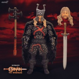 SUPER7 CONAN THE BARBARIAN ULTIMATES REXOR 18 CM ACTION FIGURE