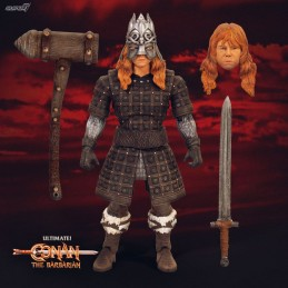CONAN THE BARBARIAN ULTIMATES THORGRIM 18 CM ACTION FIGURE SUPER7
