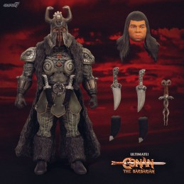 CONAN THE BARBARIAN ULTIMATES THULSA DOOM 18 CM ACTION FIGURE SUPER7