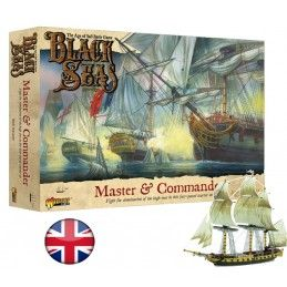WARLORD GAMES BLACK SEAS - MASTER AND COMMANDER STARTER SET MINIATURES INGLESE