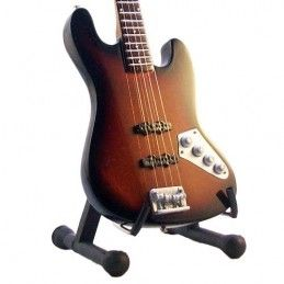 MINI GUITAR JACO PASTORIUS RELIC BASS MINI REPLICA IN LEGNO MUSIC LEGENDS COLLECTION