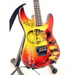 MUSIC LEGENDS COLLECTION MINI GUITAR METALLICA KIRK HAMMETT MUMMY MINI REPLICA IN LEGNO