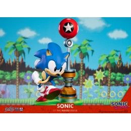 SONIC THE HEDGEHOG PVC STATUE 29CM FIGURE FIRST4FIGURES