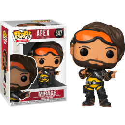 FUNKO POP! APEX LEGENDS - MIRAGE BOBBLE HEAD KNOCKER FIGURE FUNKO