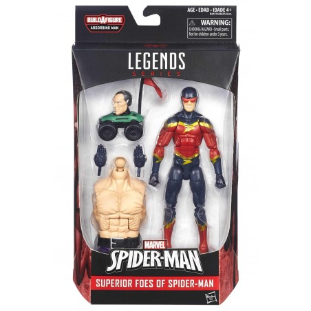 MARVEL LEGENDS SERIES ABSORBING MAN - SPEED DEMON ACTION FIGURE